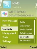 Lindungi SMS Dengan Password s60v3