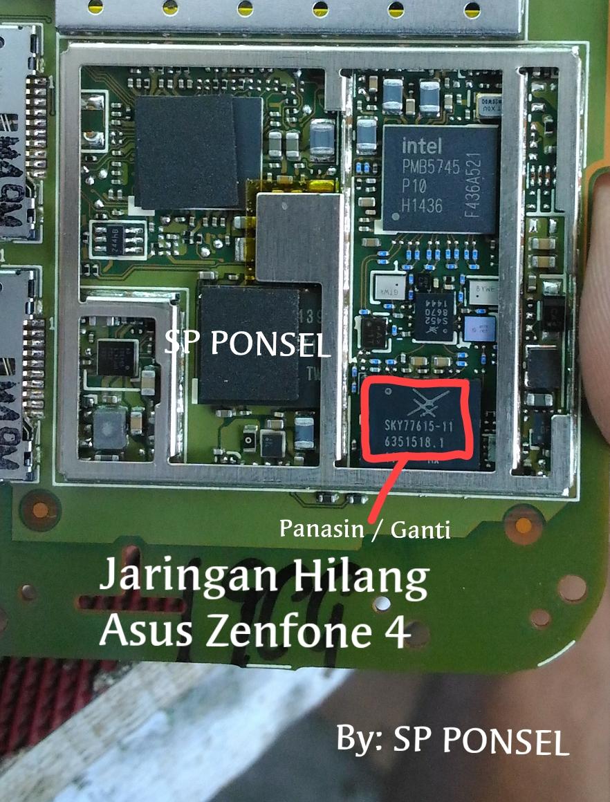 Solusi Jaringan Lemah Dan Hilang Asus Zenfone 4 T00I Not