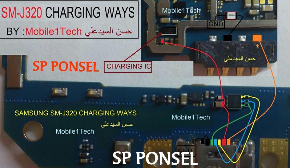Solusi Jalur Cas Dan Usb Samsung J3 Sm